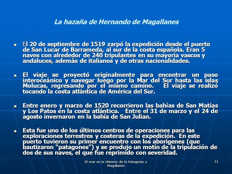 La hazaña de Hernando de Magallanes