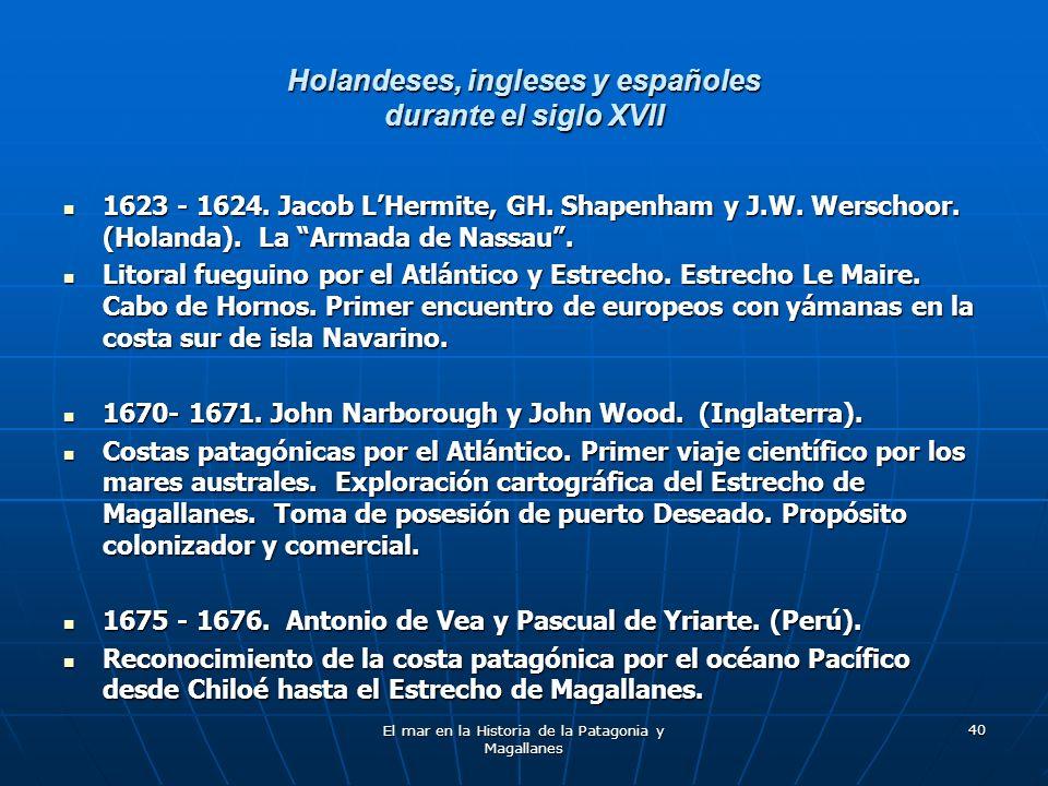 Holandeses, ingleses y españoles durante el siglo XVII