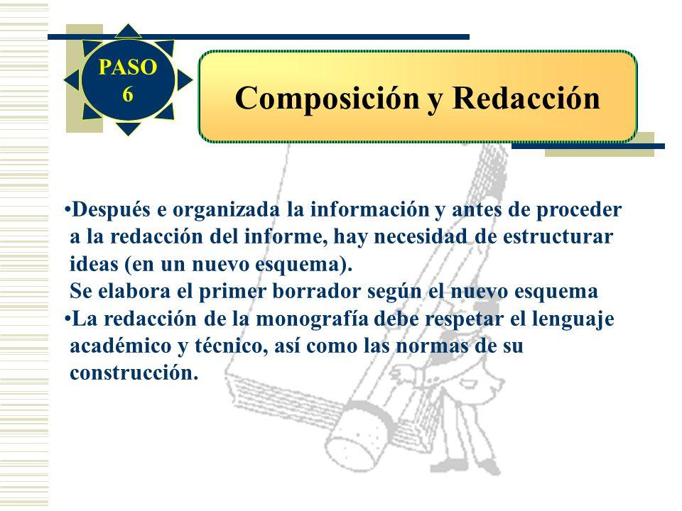 Composición y Redacción