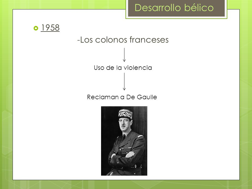 -Los colonos franceses