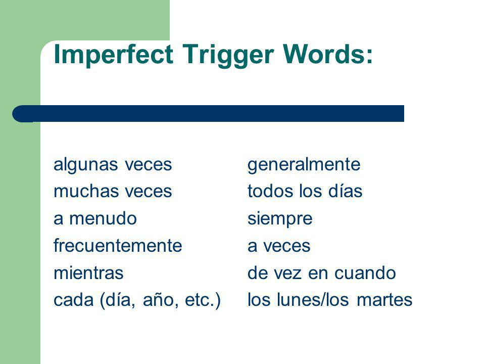 Imperfect Trigger Words: