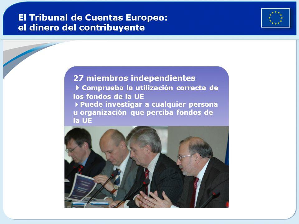 El Tribunal de Cuentas Europeo: el dinero del contribuyente