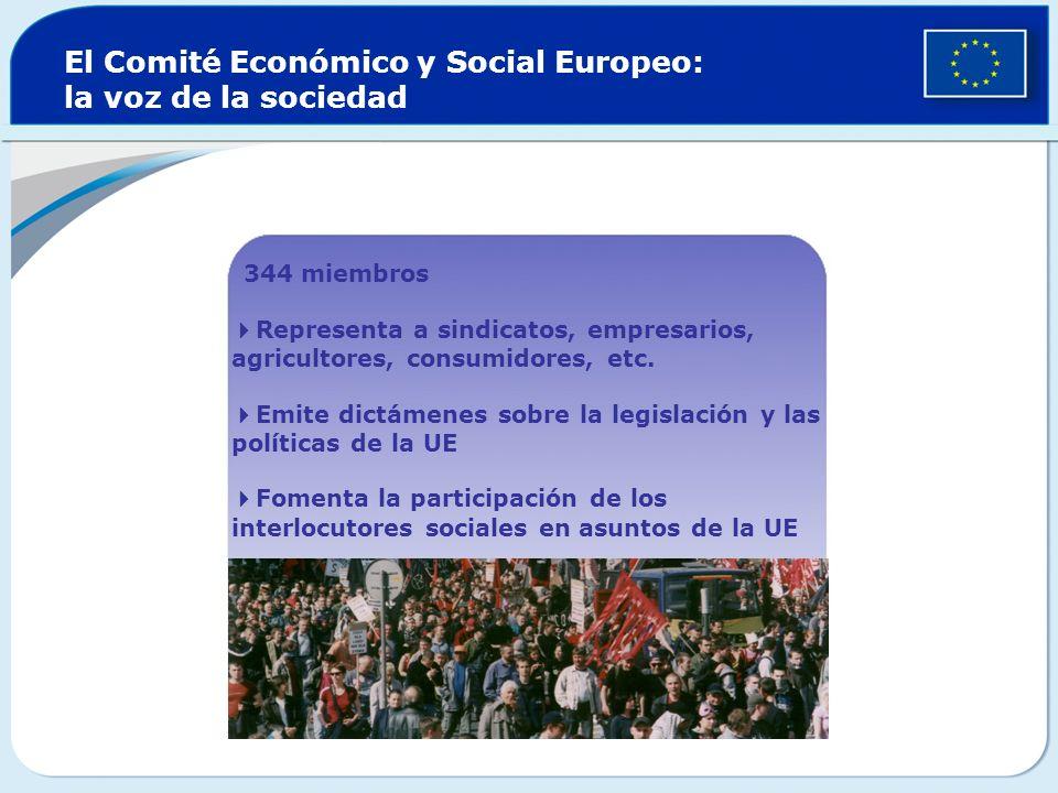 El Comité Económico y Social Europeo: la voz de la sociedad