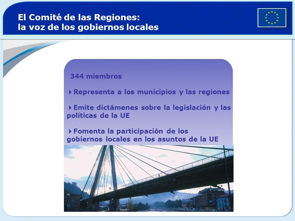 El Comité de las Regiones: la voz de los gobiernos locales