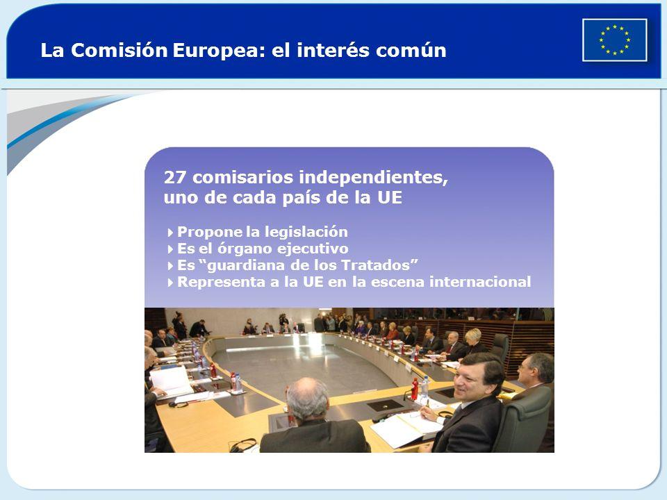 La Comisión Europea: el interés común
