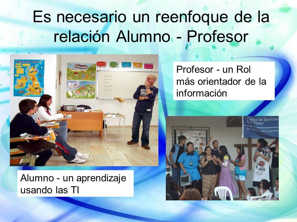 Es necesario un reenfoque de la relación Alumno - Profesor