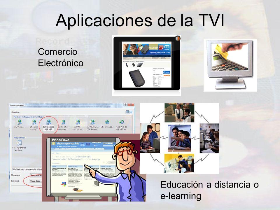 Aplicaciones de la TVI Comercio Electrónico
