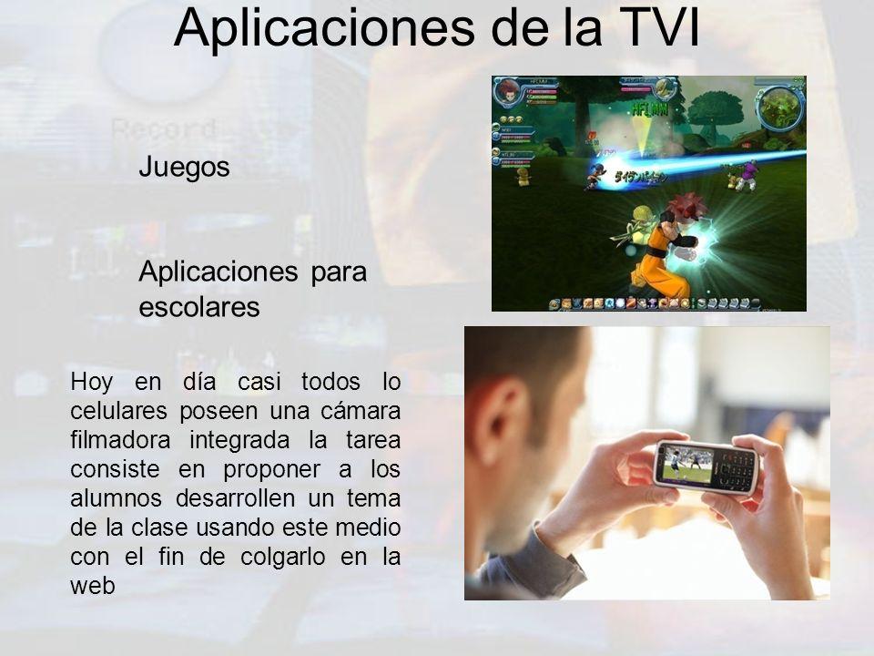 Aplicaciones de la TVI Juegos Aplicaciones para escolares