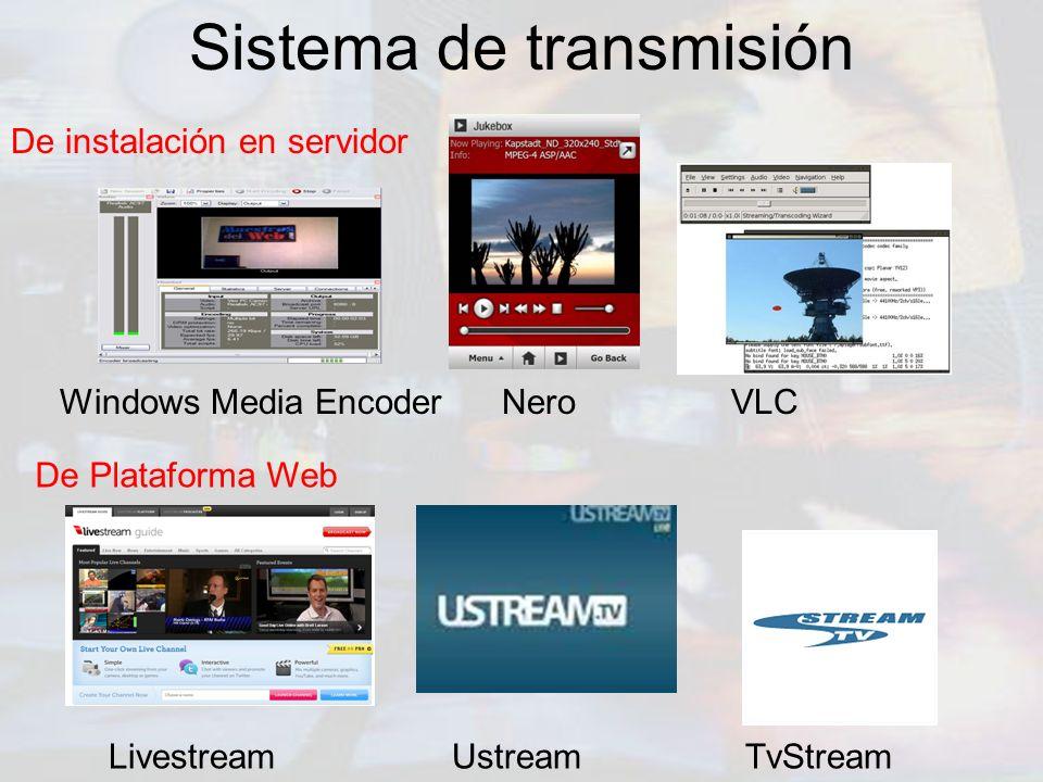 Sistema de transmisión