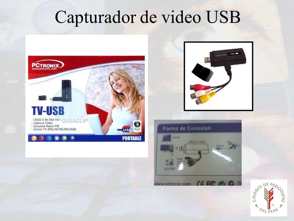 Capturador de video USB
