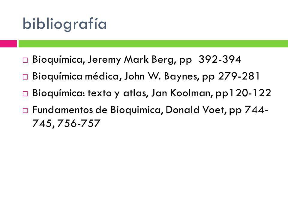 bibliografía Bioquímica, Jeremy Mark Berg, pp 392-394