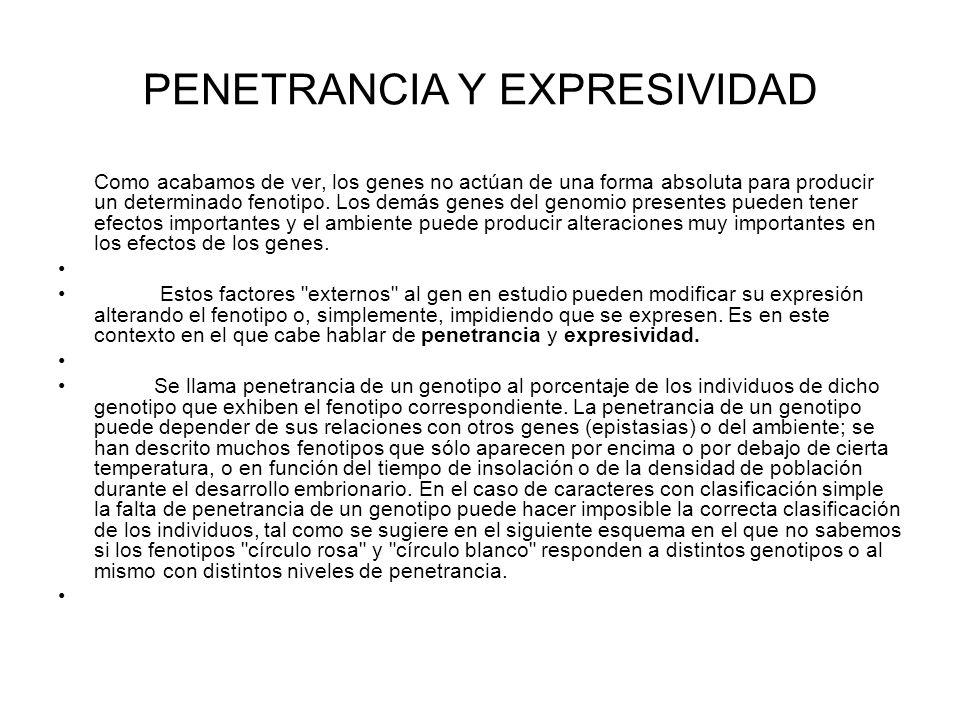 PENETRANCIA Y EXPRESIVIDAD