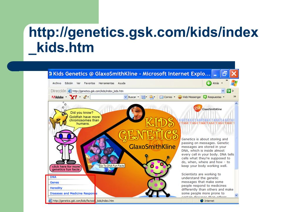 http://genetics.gsk.com/kids/index_kids.htm