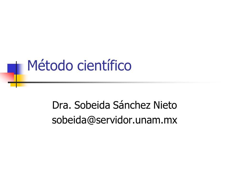 Dra. Sobeida Sánchez Nieto sobeida@servidor.unam.mx