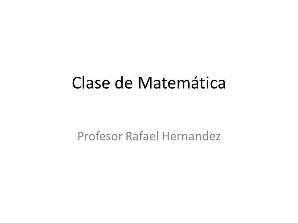 Profesor Rafael Hernandez