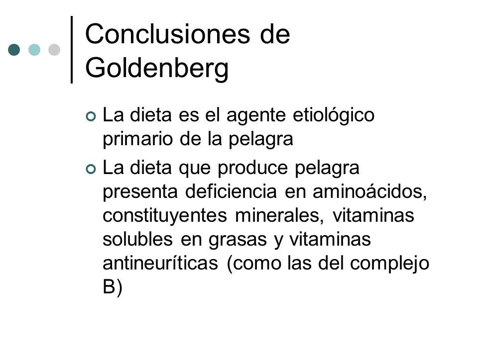 Conclusiones de Goldenberg