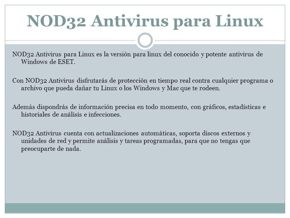 NOD32 Antivirus para Linux