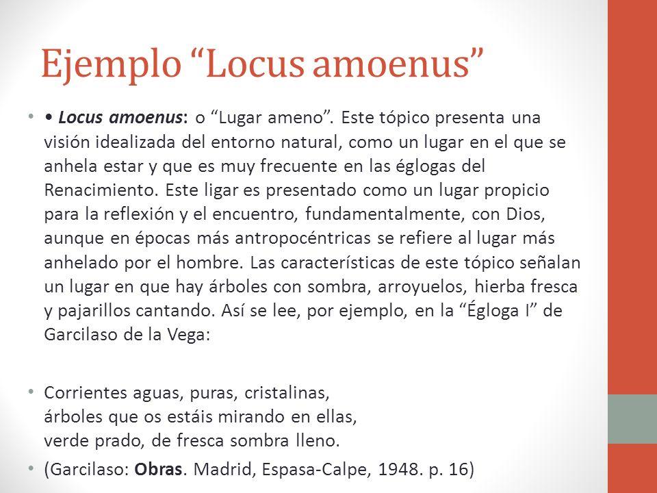 Ejemplo Locus amoenus