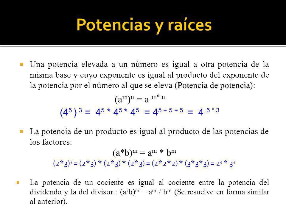 (2*3)3 = (2*3) * (2*3) * (2*3) = (2*2*2) * (3*3*3) = 23 * 33