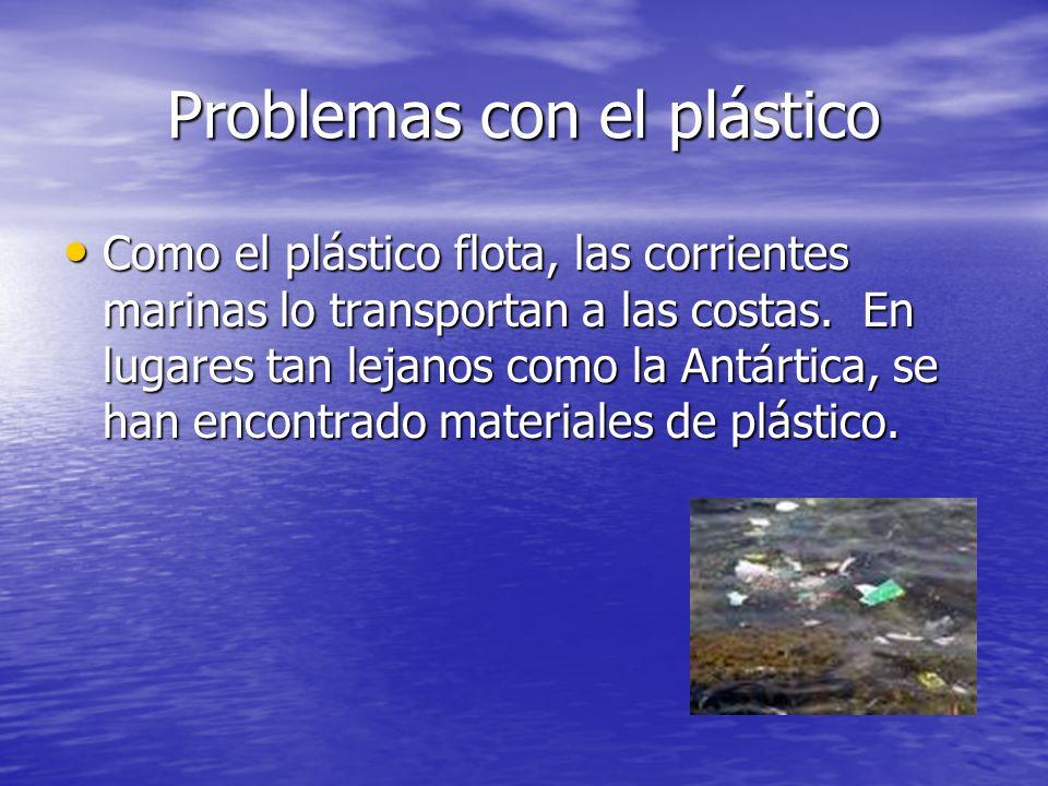 Problemas con el plástico