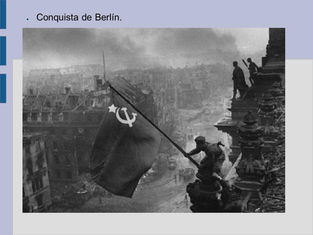 Conquista de Berlín.