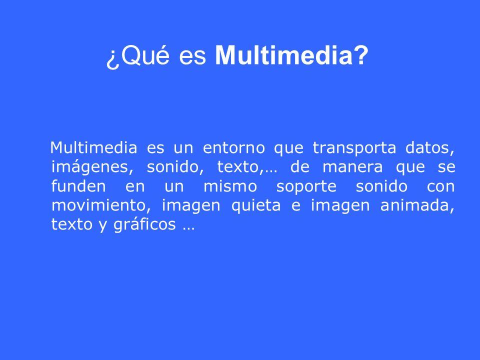 ¿Qué es Multimedia