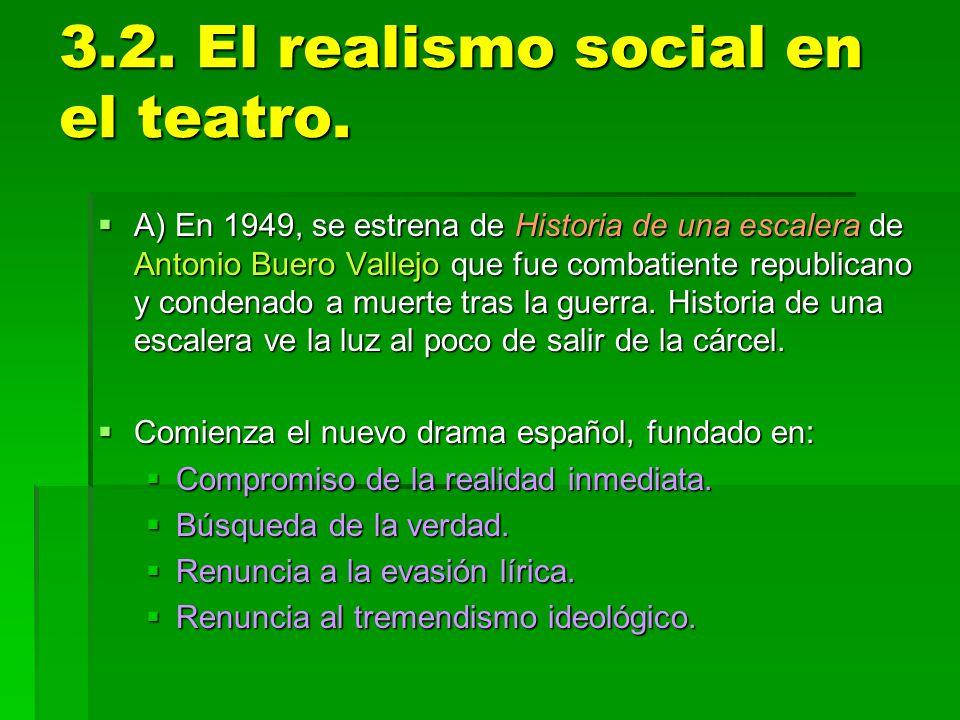 3.2. El realismo social en el teatro.