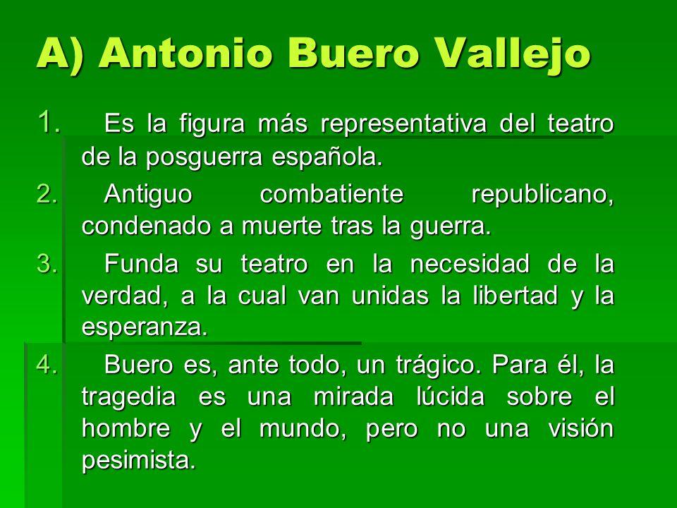 A) Antonio Buero Vallejo
