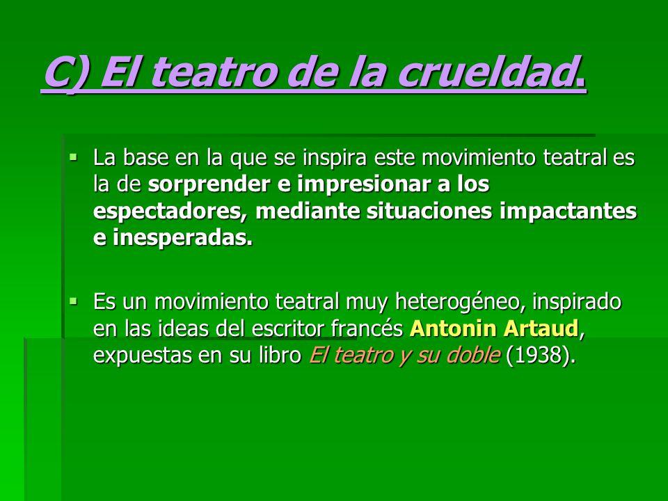C) El teatro de la crueldad.