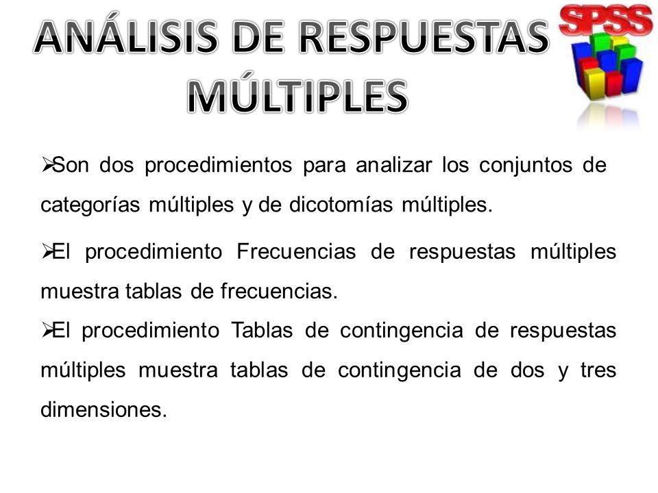 ANÁLISIS DE RESPUESTAS