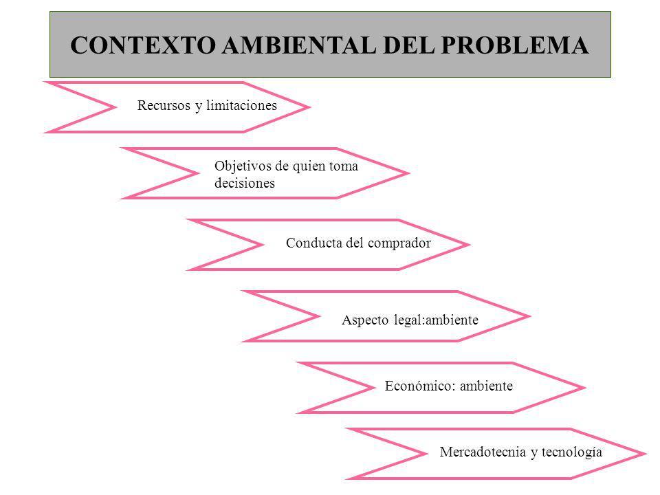 CONTEXTO AMBIENTAL DEL PROBLEMA