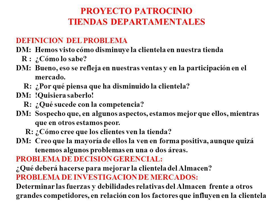 PROYECTO PATROCINIO TIENDAS DEPARTAMENTALES