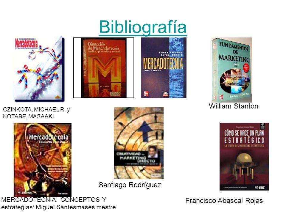 Bibliografía William Stanton Santiago Rodríguez