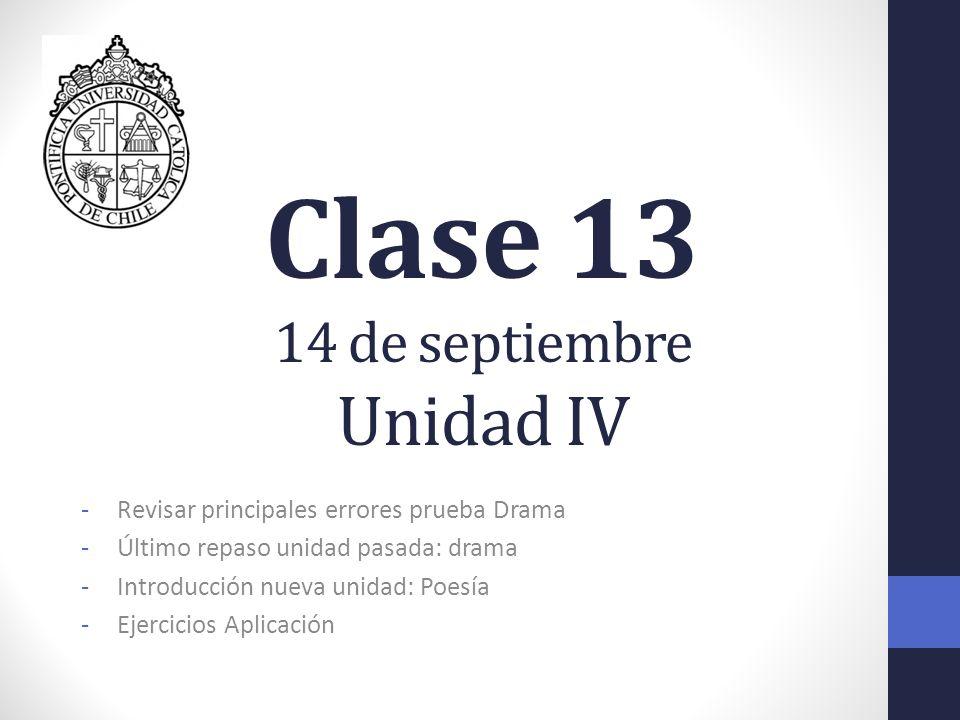 Clase 13 14 de septiembre Unidad IV