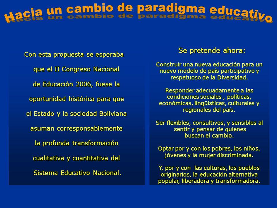 Hacia un cambio de paradigma educativo