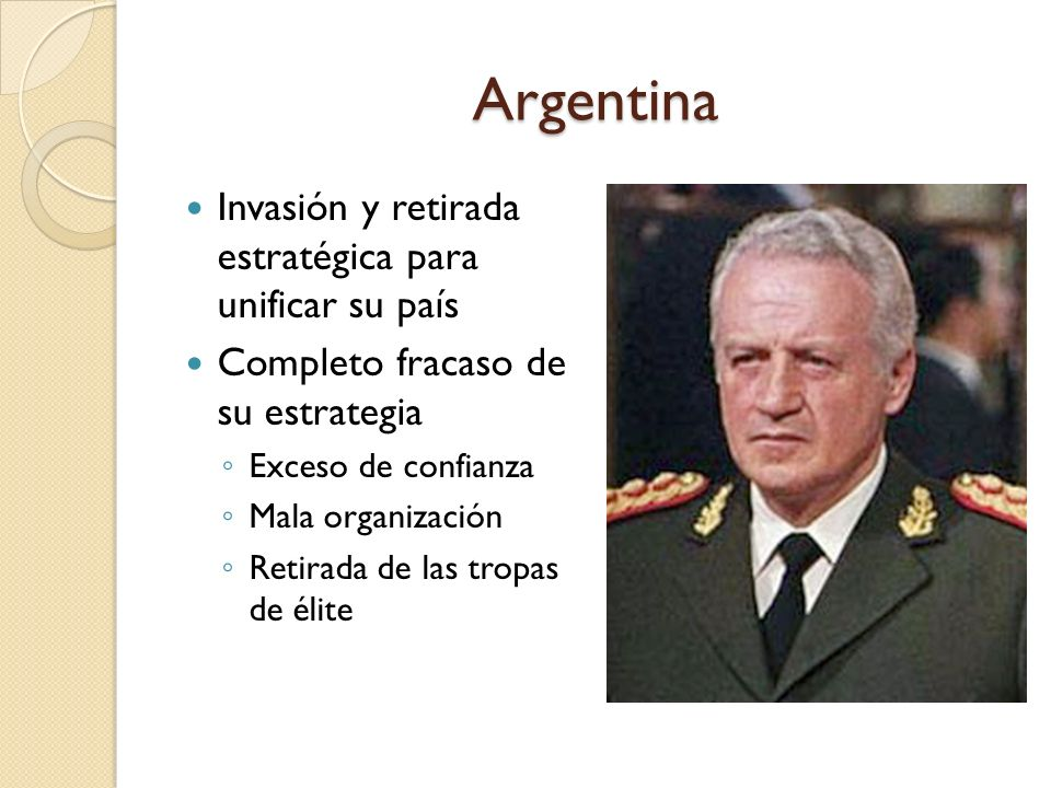 Argentina Invasión y retirada estratégica para unificar su país