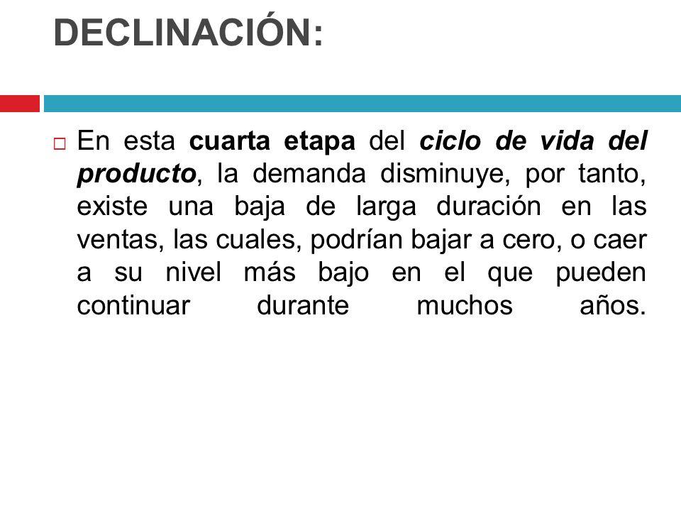 DECLINACIÓN: