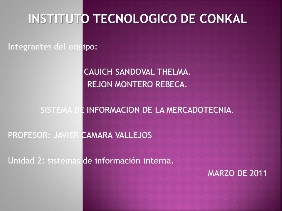 INSTITUTO TECNOLOGICO DE CONKAL