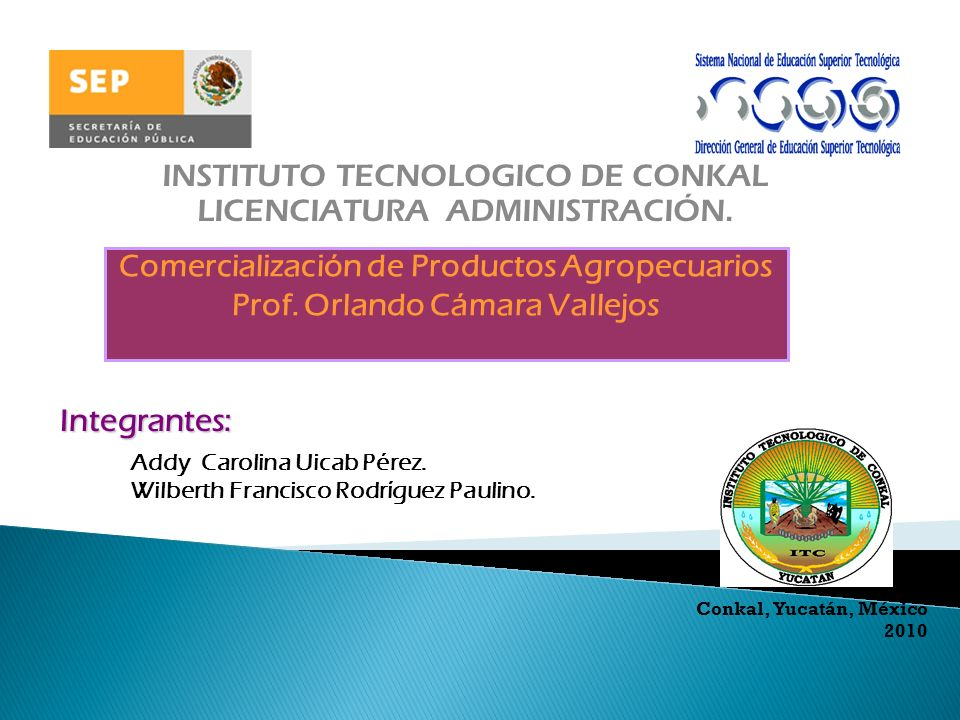 INSTITUTO TECNOLOGICO DE CONKAL LICENCIATURA ADMINISTRACIÓN.