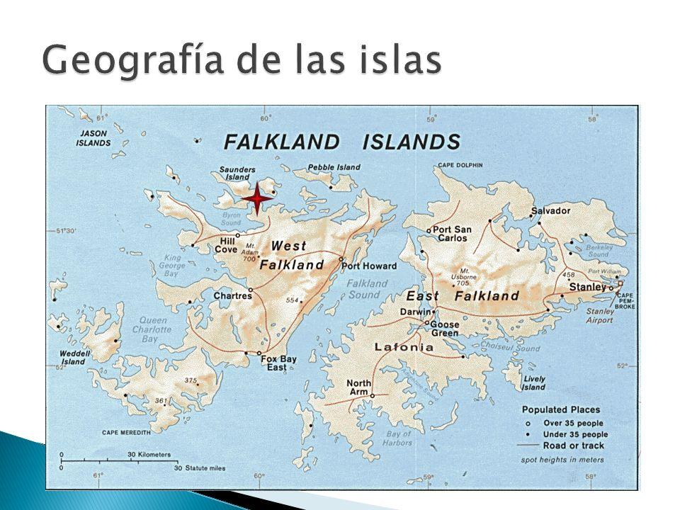 Geografía de las islas