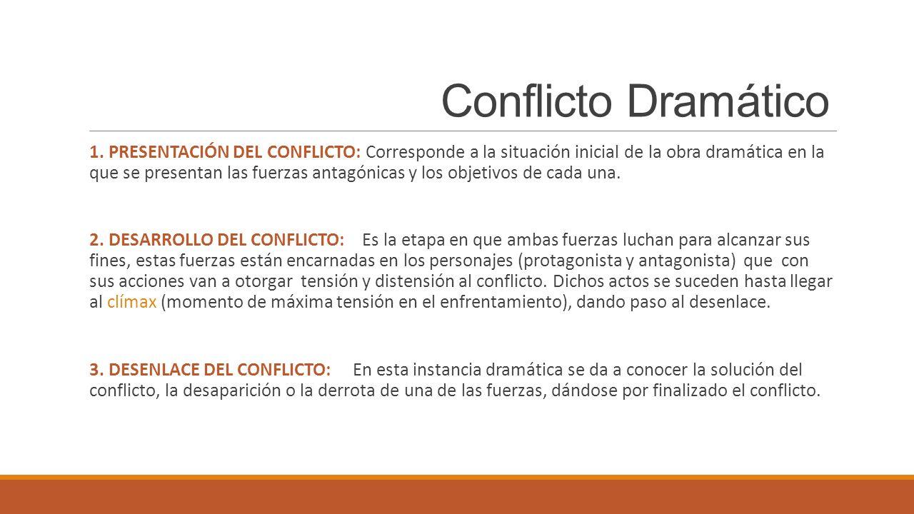 Conflicto Dramático