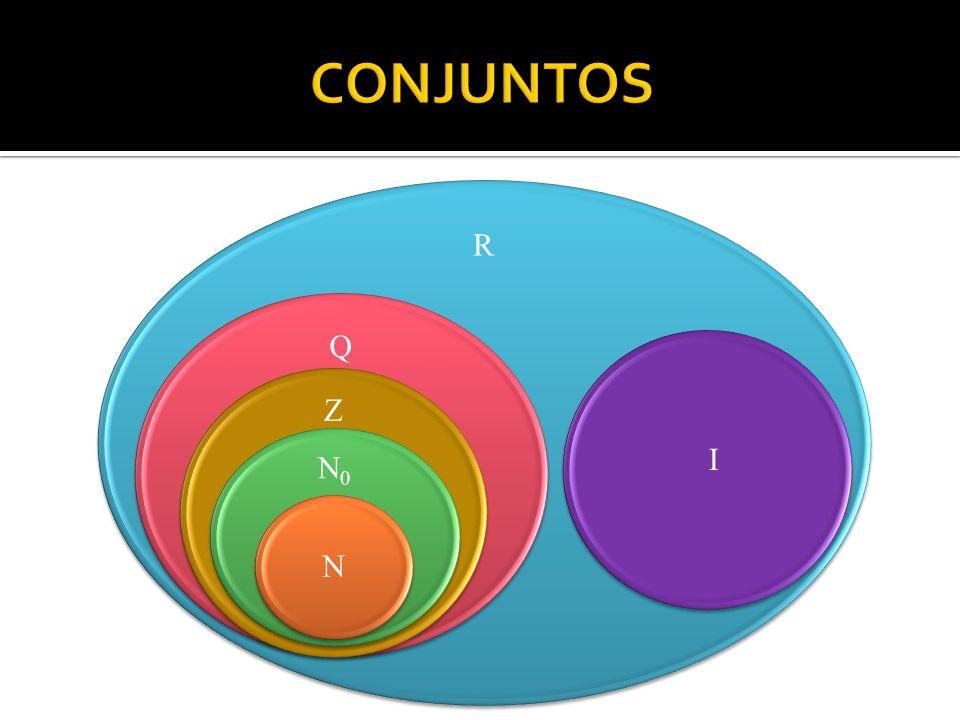 CONJUNTOS R Q I Z N0 N