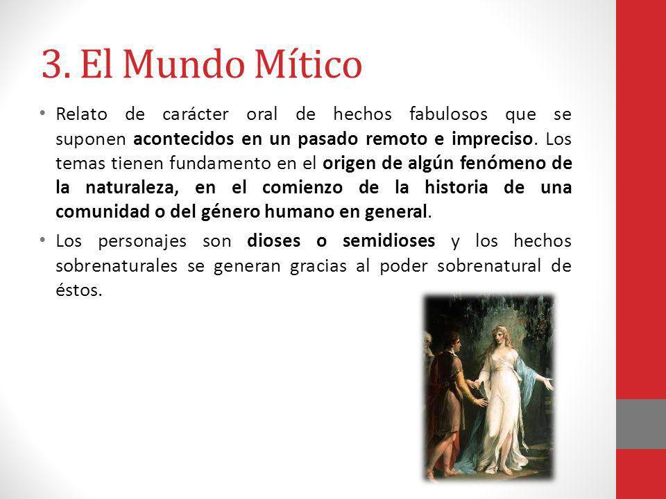 3. El Mundo Mítico