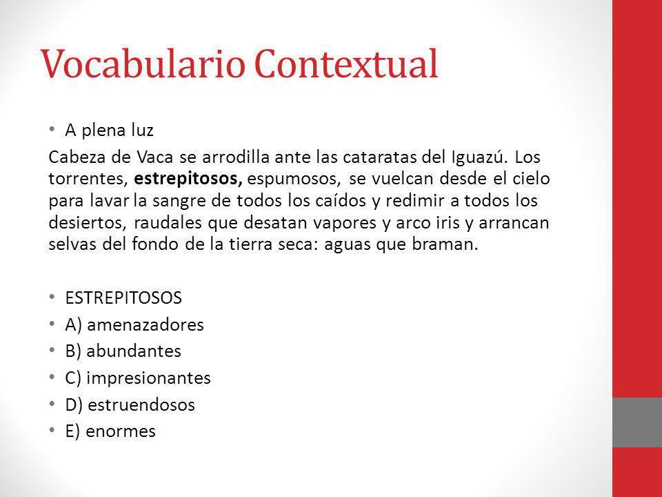 Vocabulario Contextual