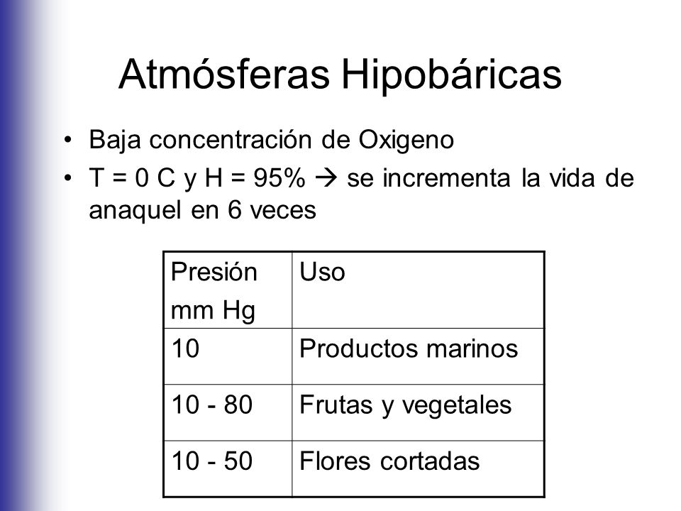Atmósferas Hipobáricas