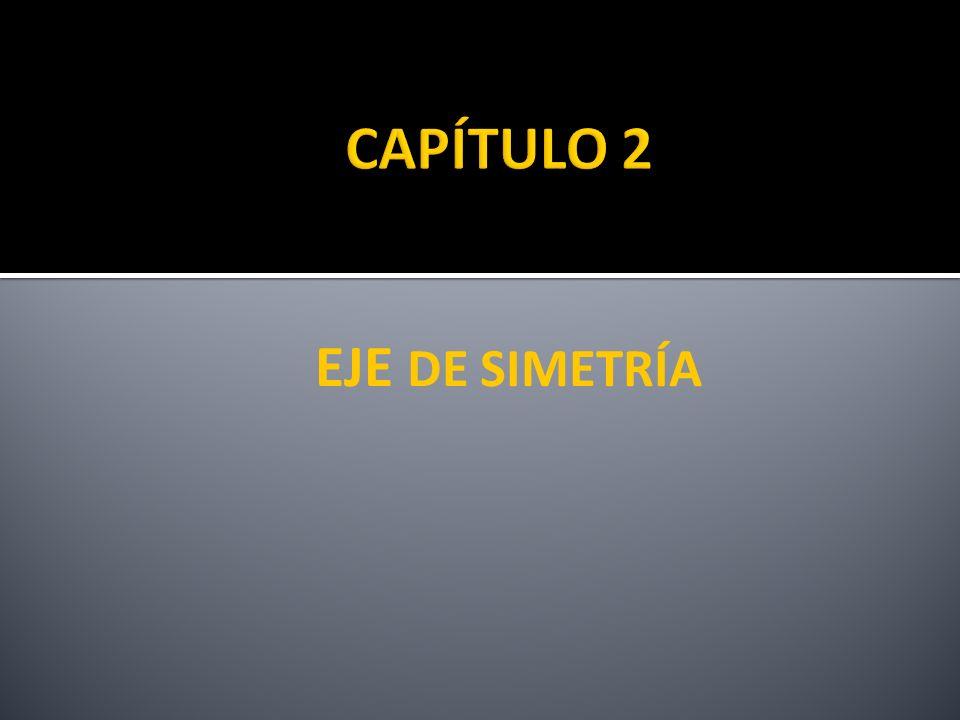 CAPÍTULO 2 EJE DE SIMETRÍA