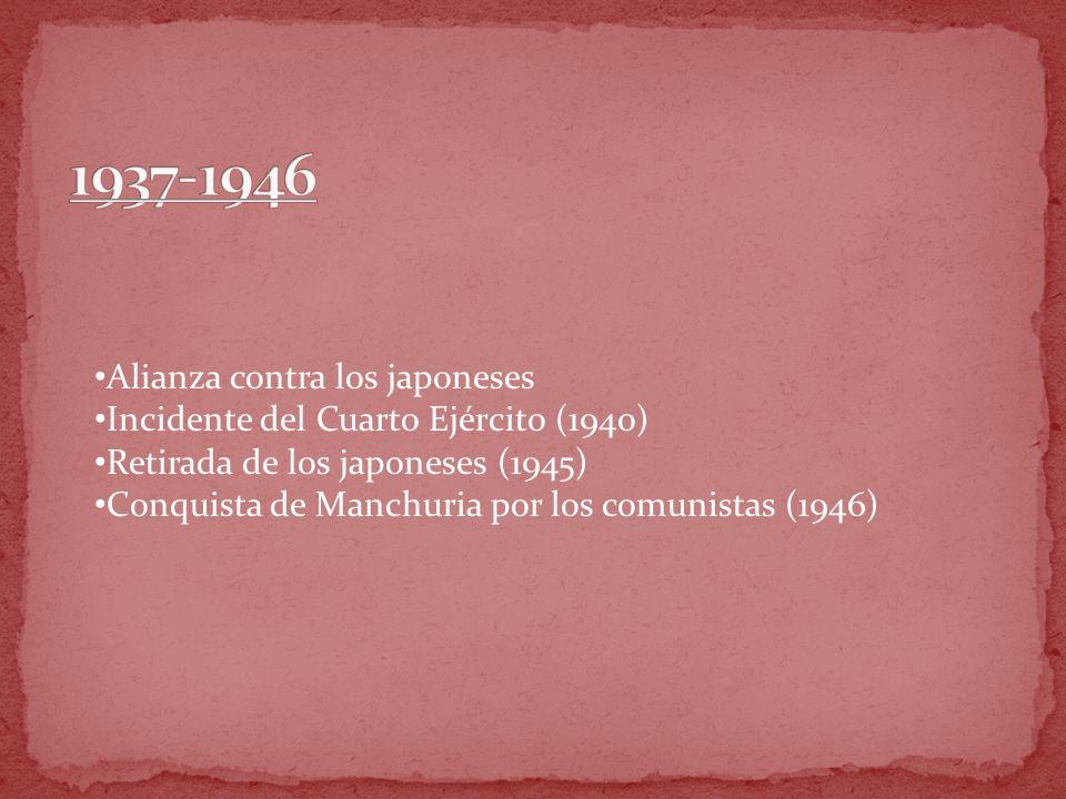 1937-1946 Alianza contra los japoneses
