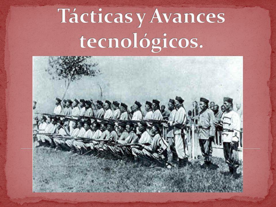 Tácticas y Avances tecnológicos.