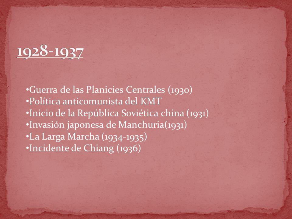 1928-1937 Guerra de las Planicies Centrales (1930)