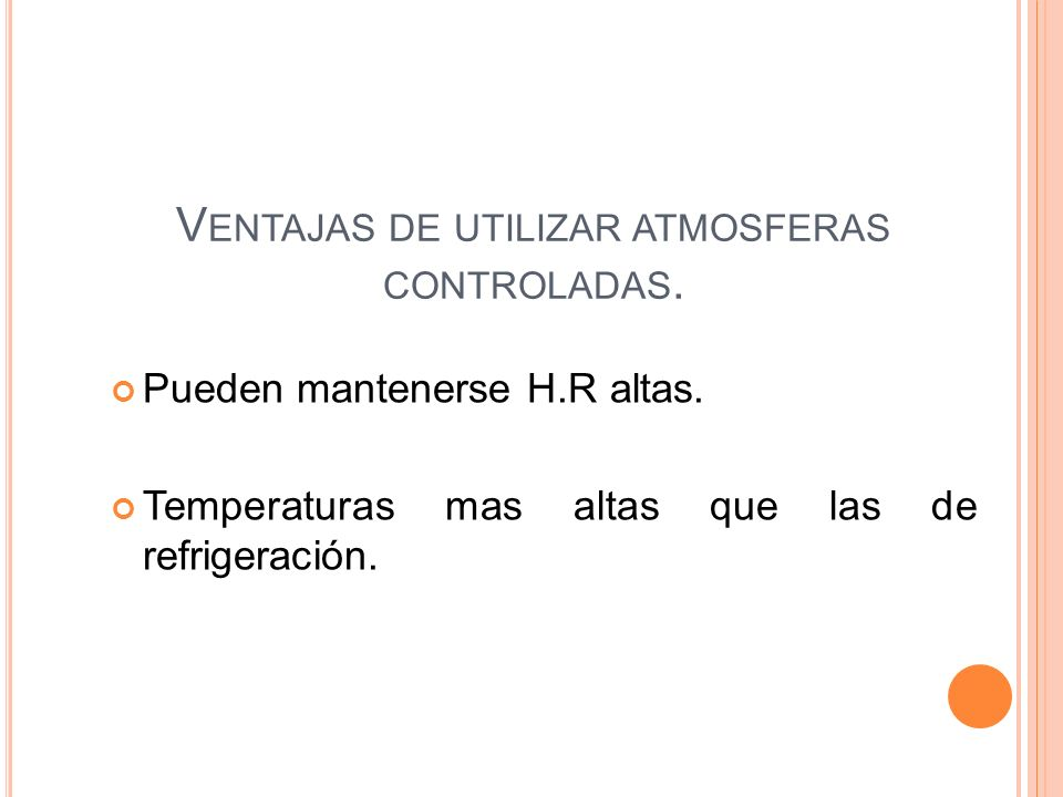 Ventajas de utilizar atmosferas controladas.